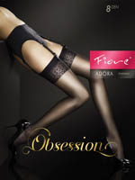 Fiore - Sheer Stockings Adora Black