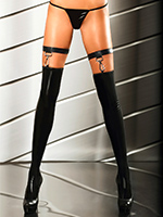 Lolitta - Wet Look Stockings Extraordinary Stocking