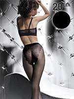 Fiore - Bikini Tights Klara Black