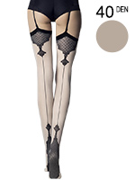 Fiore - Patterned Stockings Vanity Linen