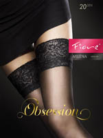 Fiore - Sheer Hold-Ups Milena Mocca